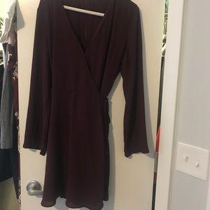Lush Wrap Dress Size Large